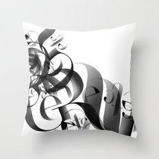 flow II Throw Pillow
