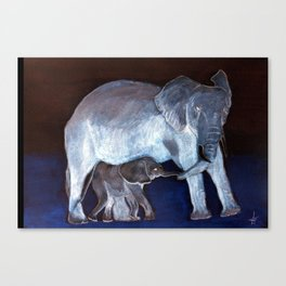 Moonlight Moods collection 'A Proud Mum' Canvas Print