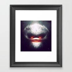 Furry Smile Framed Art Print