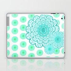 seafoam & blueeeey Laptop & iPad Skin