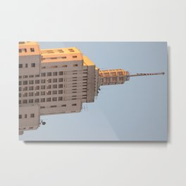 Edifício do Banespa Metal Print