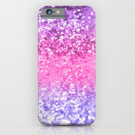 Unicorn Girls Glitter #6 #shiny #decor #art #society6 iPhone Case