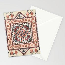 Palestinian embroidery pattern Stationery Cards