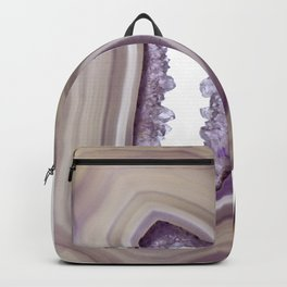Iris and butterscotch Agate Backpack
