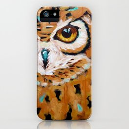 Hunter's Stare iPhone Case