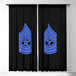 Sergeant Major (Police) Blackout Curtain
