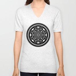 Mandala No3 Unisex V-Neck