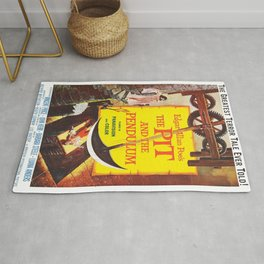 Vintage poster - The Pit and the Pendulum Rug