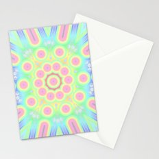 flower candy power Stationery Cards