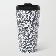 Whale, Orca Metal Travel Mug