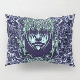 Boy with Labirinth Horns Pillow Sham