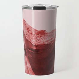 Shy red girl Travel Mug