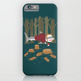 LumberJack Shark iPhone Case
