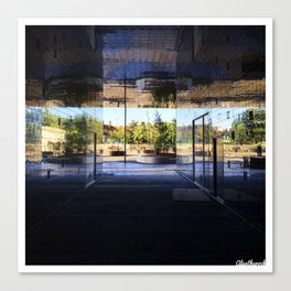 New Area in Morning Light Canvas Print