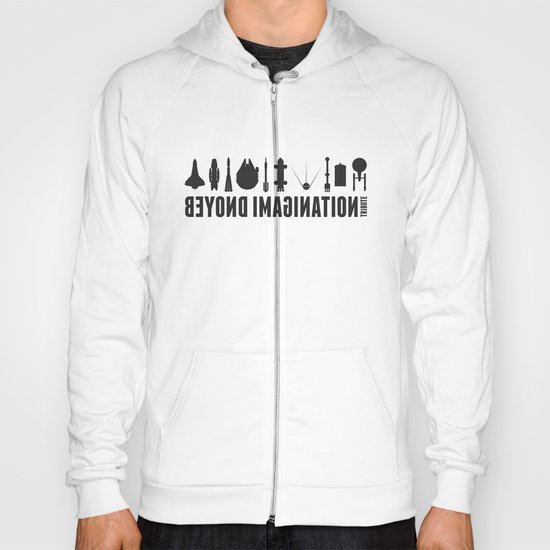 Beyond imagination: Discovery One postage stamp Hoody