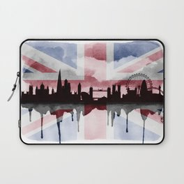 Great British Flag London Skyline 2 Laptop Sleeve