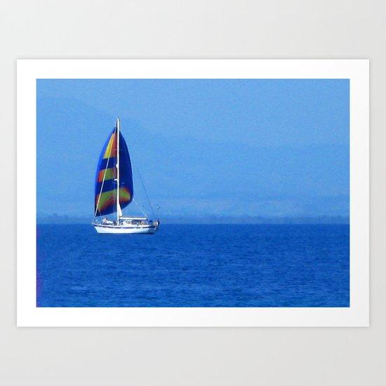 South sea, Fiji Art Print