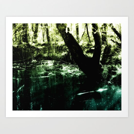 MAGIC POND Art Print