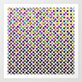 Polkadots Jewels G192 Art Print