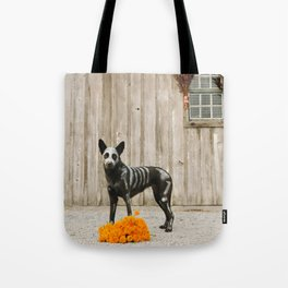 Day of the Dead Dog by The Labs & Co. Tote Bag