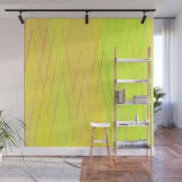 Re-Created Vertices No. 25 by Robert S. Lee Wall Mural