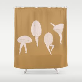 Fun-Gals Shower Curtain