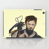 daryl dixon iPad Cases featuring Daryl by Brittany Ketcham