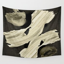 """""""Scandinavian Japanese Abstract"""" Wall Tapestry"""