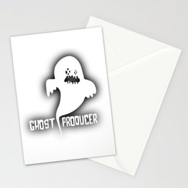 Ghost Techno Producer Stationery Cards