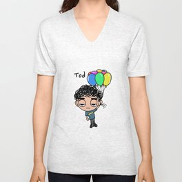 Balloon  Unisex V-Neck