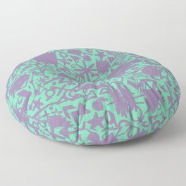 Synapses Floor Pillow