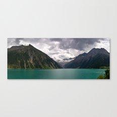 Schlegeis Lake, Austria | Panorama Canvas Print