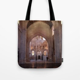 Conjoined Faiths 2 (Mosque-Cathedral of Cordoba) Tote Bag