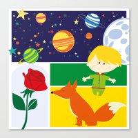 le petit prince Canvas Prints featuring Le Petit Prince by Lara Fotografica