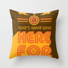 1st Gen UR Tees Throw Pillow