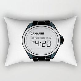 420 Watch Rectangular Pillow