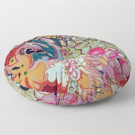 Feather Head Floor Pillow