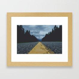 To Nowhere Framed Art Print