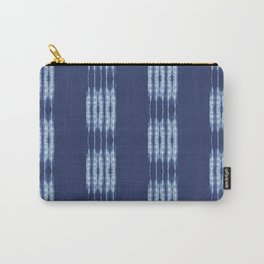 Shibori scratched Carry-All Pouch