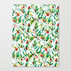 Orange Blossoms Canvas Print