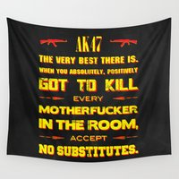 tarantino Wall Tapestries featuring JackieBrown by Fimbis
