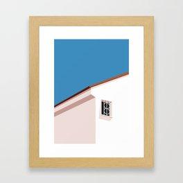 SUMMER HOUSE 1 Framed Art Print