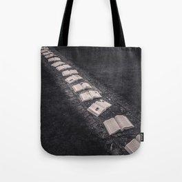 Book Path Tote Bag