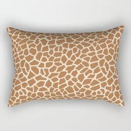 Giraffe animal print Rectangular Pillow