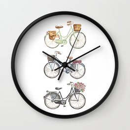 Biciclette Wall Clock