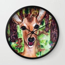 Lookin' smart, my Deer Wall Clock