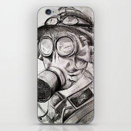 World War I - Gas Mask (WWI) iPhone Skin