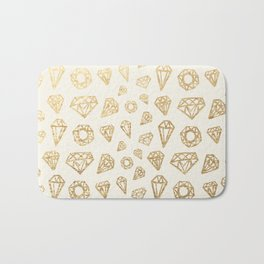 Diamonds Bath Mat