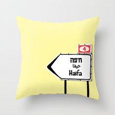 Haifa This Way Throw Pillow