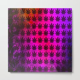 Berry Indica Metal Print